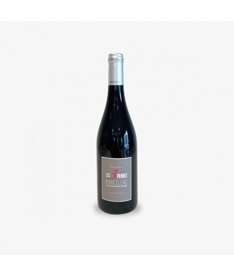 Les Vignerons du Vallon Les Trois Pierres rouge Vins Falguieres